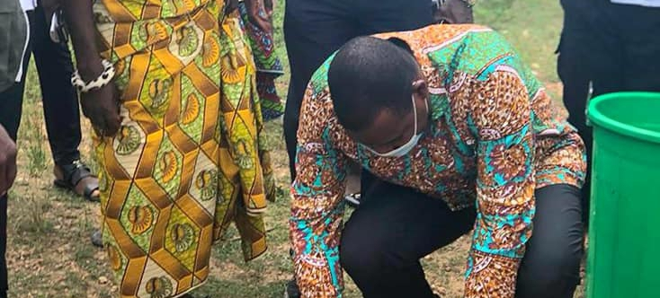 Obuasi Municipal Goes Green As Assembly Plants 9,000 Trees